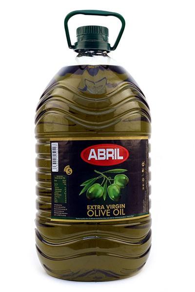 Оливковое масло Abril 5 литров пластик