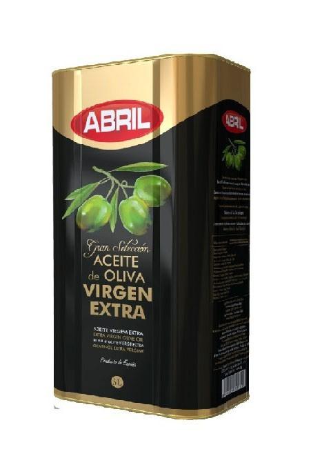 Оливковое масло Abril 5 литров жесть