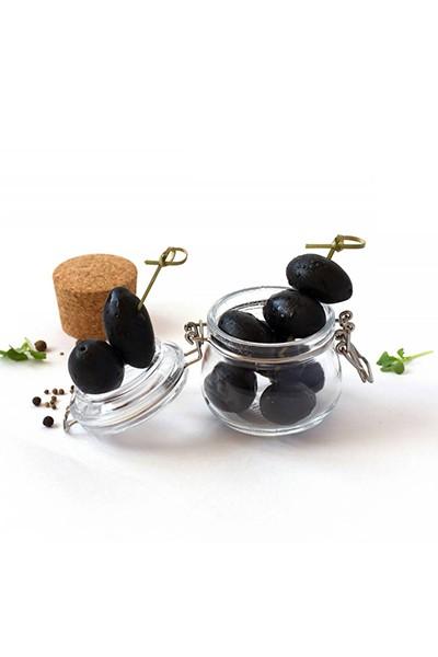 Черные оливки с костью SS Mammouth 70/90 4250 мл