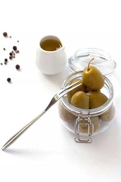Зеленые оливки без кости SS Mammouth 70/90 900 мл